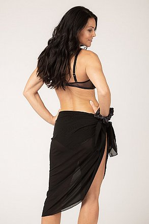 Black Diamond - Bikini, tankini, sarong & hairband