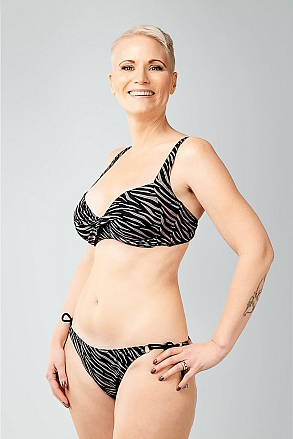 Bikini in zebra pattern for women from Sunkini.com