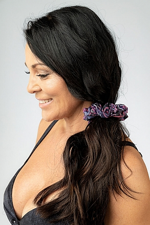 Hairband in purple paisley pattern for women from Sunkini.com
