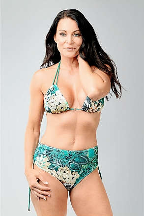 Bikini in tropical pattern for women from Sunkini.com