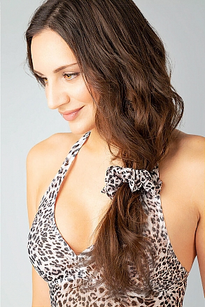Hairband in leopard pattern for women from Sunkini.com